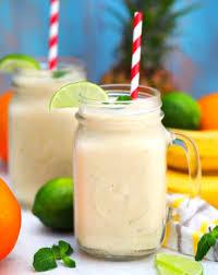 Tropical Fruit Breakfast Smoothie