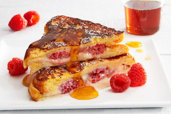 Raspberry French Toast
